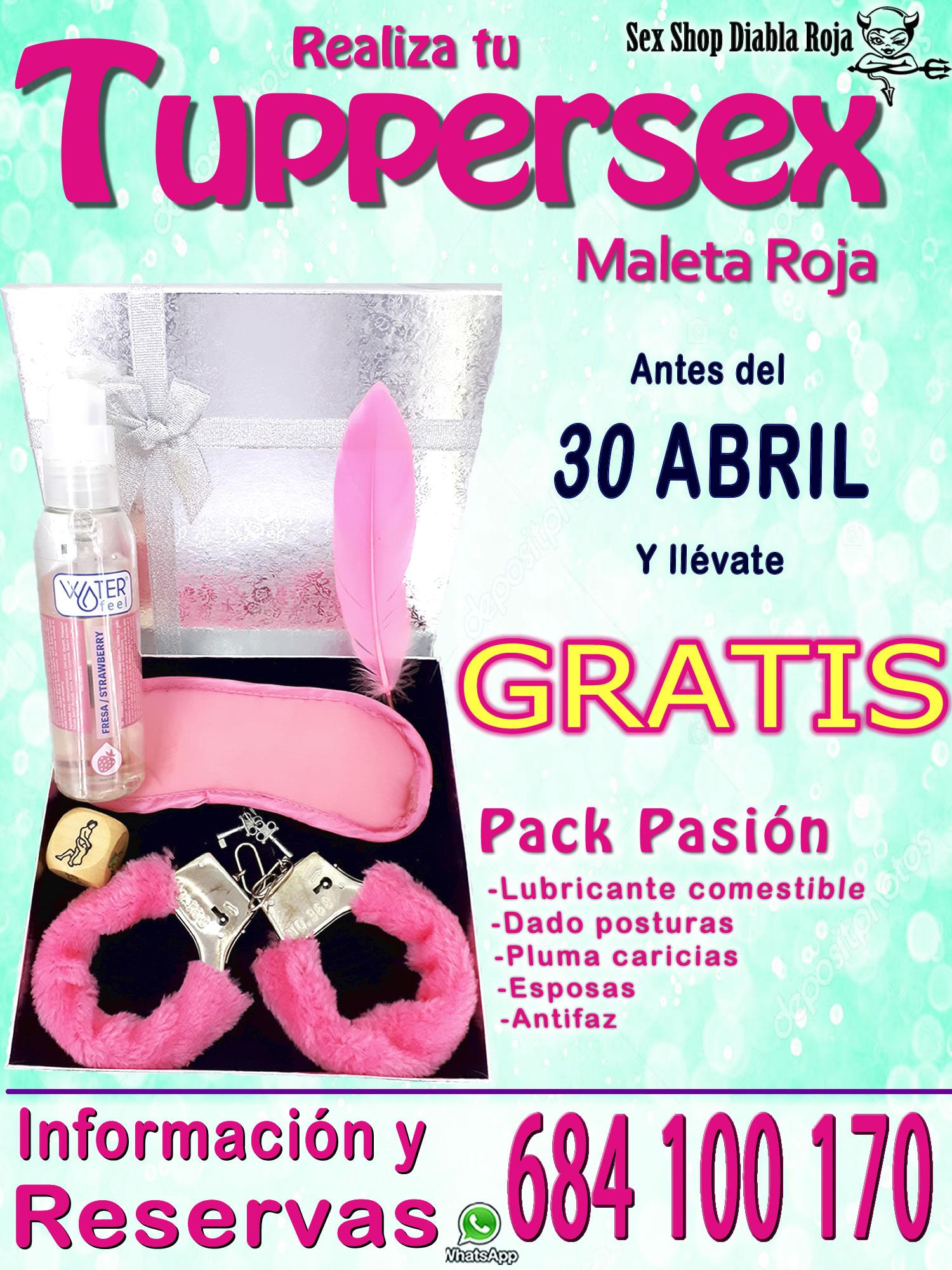 PROMOCIÓN REUNIONES TUPPERSEX EN HUELVA Y SEVILLA
